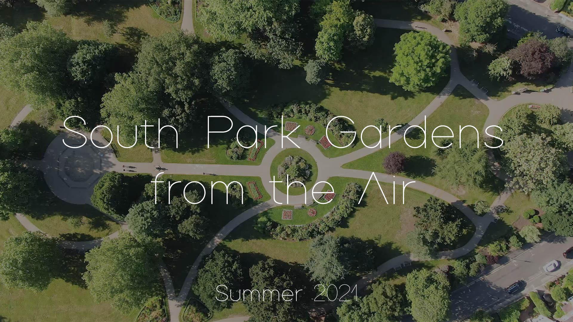 South Park Gardens Aerial